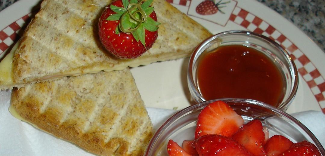 Maakt rood blij? Aardbeien eten wel!